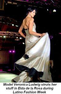 03 - Latino Fashion Week Model Veronica Ludwig wearing Elda de la Rosa in Nov