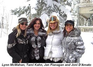 Blog 3 - Lynn McMahan, Tami Kahn, Jan Flanagan and Joni D'Amato