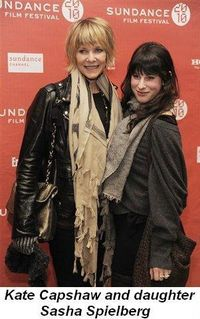 Blog 13 - Kate Capshaw and her daughter Sasha Speilberg