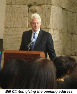 Blog 5 - Clinton giving the opening address
