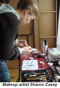 Blog 4 - Makeup artist Sharon Casey