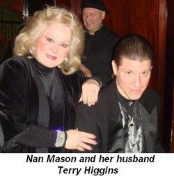 Nan Mason and her husband Terry Higgins