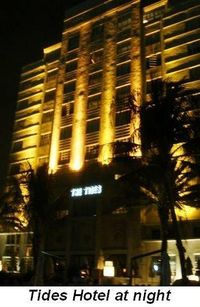 Blog 1 - Tides Hotel at night