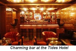 Blog 2 - Charming bar at the Tides Hotel