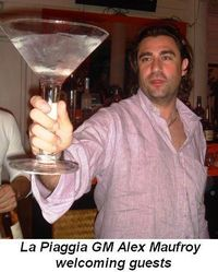 Blog 6 - La Piaggia GM Alex Maufroy welcoming guests