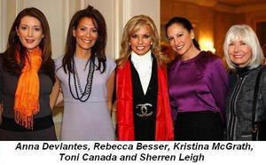 Blog 2 - Anna Devlantes, Rebecca Besser, Kristina McGrath, Toni Canada and Sherren Leigh