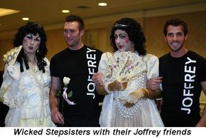 Blog 7 - Wicked Stepsisters with their Joffrey friends