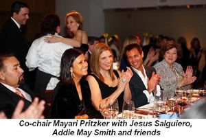 Blog 5 - Co-chair Mayari Pritzker with Jesus, Addie May and friends