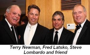 Blog 7 - Terry Newman, Fred Latsko, Steve Lombardo and friend