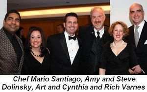Blog 9 - Art with Chef Mario Santiago, Amy and Steve Dolinsky and Cynthia and Rich Varnes