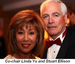 Blog 11 - Co-chair Linda Yu and Stuart Ellison