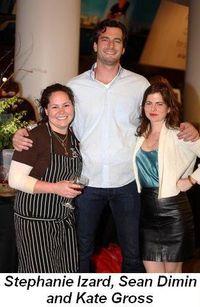 Blog last - Chef Stephanie Izard, Sean Dimin and Kate Gross