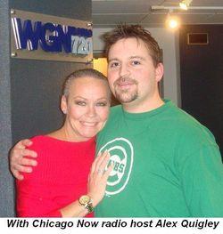 With Chicago Now radio host Alex Quigley