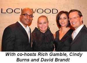 Blog 1 - With co-hosts Rich Gamble, Cindy Burns and David Brandt