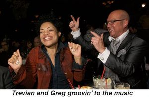 Blog 5 - Trevian and Greg groovin to the music