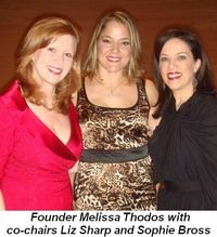 Blog 1 - Founder Melissa Thodos with co-chairs Liz Sharp and Sophie Bross
