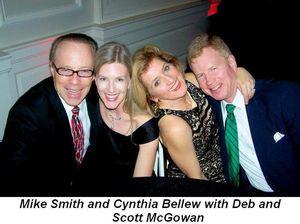 Blog 4 - Mike Smith, Cynthia Bellew, Deb and Scott McGowan