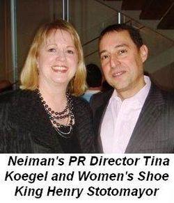 Blog 6 - With Neiman's PR Director Tina Koegel and Women's Shoe King Henry Sotomayor