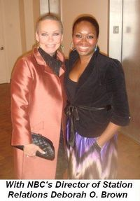 Blog 7 - With NBC's Director of Station Relations Deborah O. Brown
