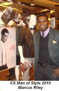 Blog 2 - CS' Man of Style 2010 Marcus Riley