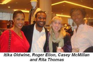 Blog 5 - Itika Oldwine, Roger Elion, Casey McMillan and Rita Thomas