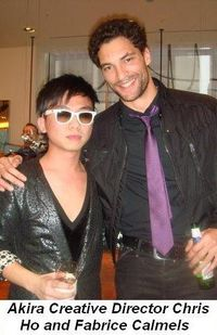 Blog 9 - Akira Creative Director Chris Ho and Fabrice Calmels