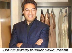 Blog 3 - BoChic jewelry founder David Joseph