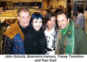 Blog 4 - John Schultz, Branimira Ivanova, Tracey Tarantino and Paul Sisti