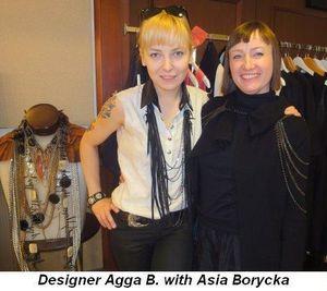 Blog 5 - Designer Agga B. with Asia Borycka