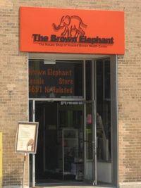 Brown elephant shopl