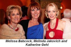 Blog 12 - Melissa Babcock, Melinda Jakovich and Katherine Gehl