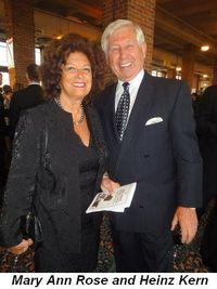 Blog 7 - Mary Ann Rose and Heinz Kern
