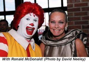 Blog 10 - With Ronald McDonald
