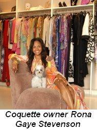 Blog 1 - Rona Gaye Stevenson, owner of Couquette