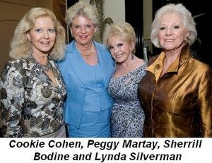 Blog 7 - Cookie Cohen, Peggy Martay, Sherrill Bodine and Lynda Silverman