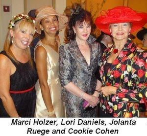 Blog 7 - Marci Holzer, Lori Daniels, Jolanta Ruege and Cookie Cohen