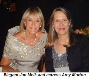 Blog 2 - Elegant Jan Melk and actress Amy Morton