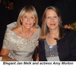 Blog 2 - Elegant Jan Melk and actress Amy Morton