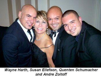Blog 16 - Wayne Harth, Susan Ellefson, Quenten Schumacher and Andre Zoltoff