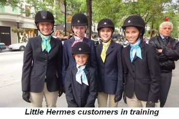 Blog 2 - Little Hermes customers in training