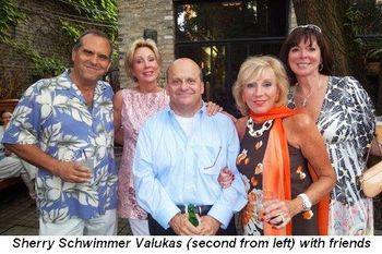 Blog 3 - Sherry Schwimmer Valukas 2nd from left with friends