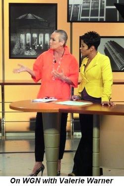 Blog 2 - On WGN with Valerie Warner