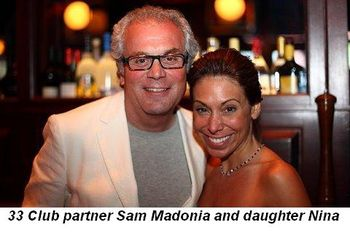Blog 3 - 33 Club partner Sam Madonia and daughter Nina