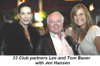 Blog 4 - 33 Club partners Lee and Tom Baur and Jen Hansen