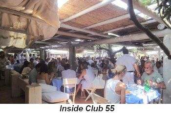 Blog 9a - Inside Club 55