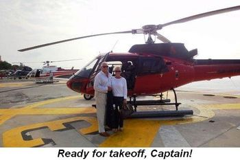 Blog 21 - Ready for takeoff captain