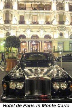 Blog 22 - Hotel de Paris in Monte Carlo