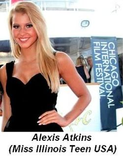 Blog 2 - Alexis Atkins (Miss Illinois Teen USA)