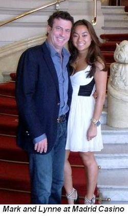 Blog 4 - Mark and Lynne at Madrid Casino