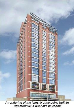 Blog 4 - Latest House being built in Streeterville; it will have 86 rooms